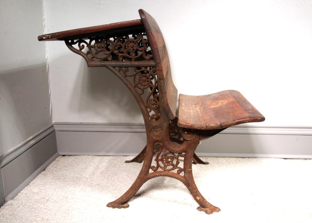 Antique School Desk Antique Furniture