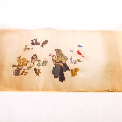 Walt Disney's Sleeping Beauty on Cellophane
