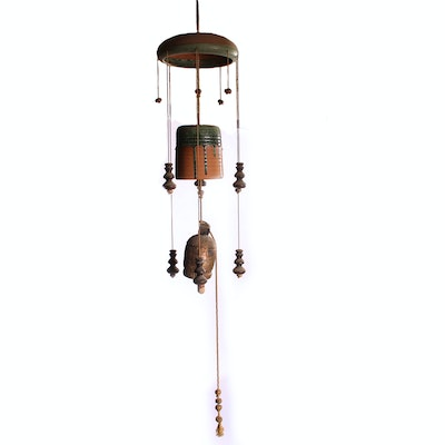 Handcrafted Ceramic Garden Chime
