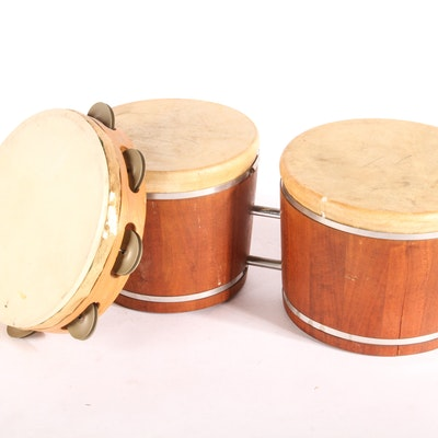 Pair of Percussion Instruments