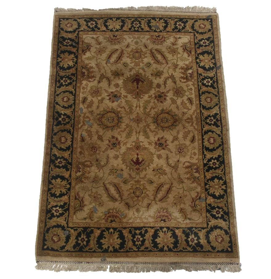 Tufted Indo Persian Wool Area Rug Ebth: Bokara Rug Company Power Loomed Wool Indo-Persian Soumak