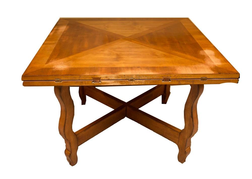 Vintage Drop Leaf Fruitwood Dining Table EBTH : 06420220of208jpgixlibrb 11 from www.ebth.com size 1000 x 714 jpeg 75kB