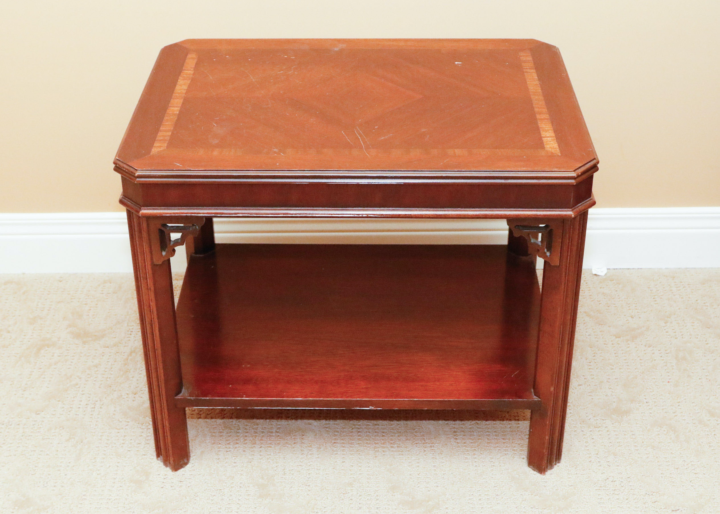 Lane Furniture Chinese Chippendale Side Table ...
