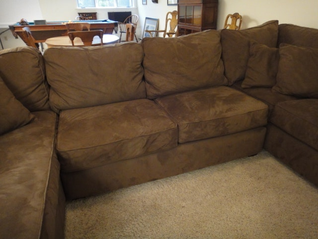 Alan White Sectional Sofa Ebth