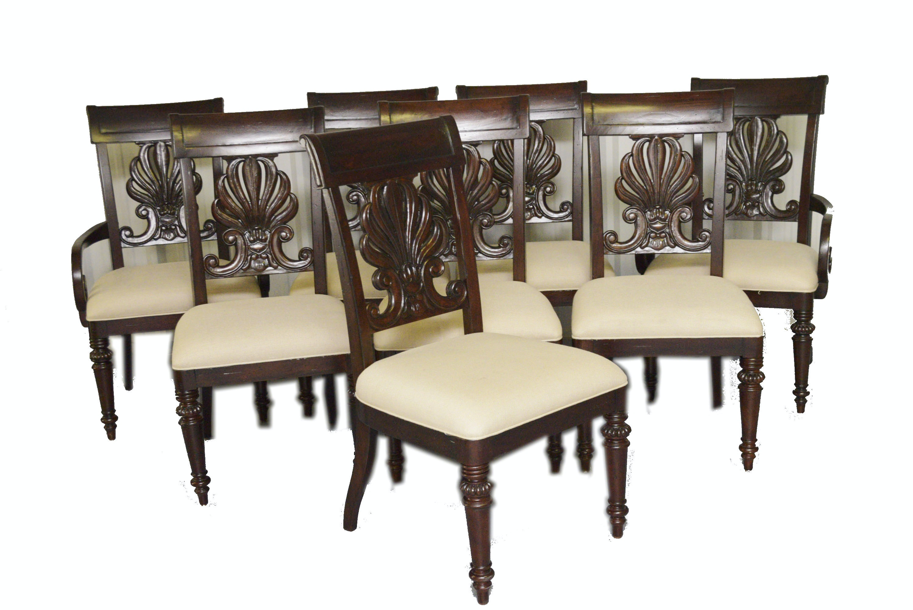 Eight Tommy Bahama Dining Chairs By Lexington Furniture ...