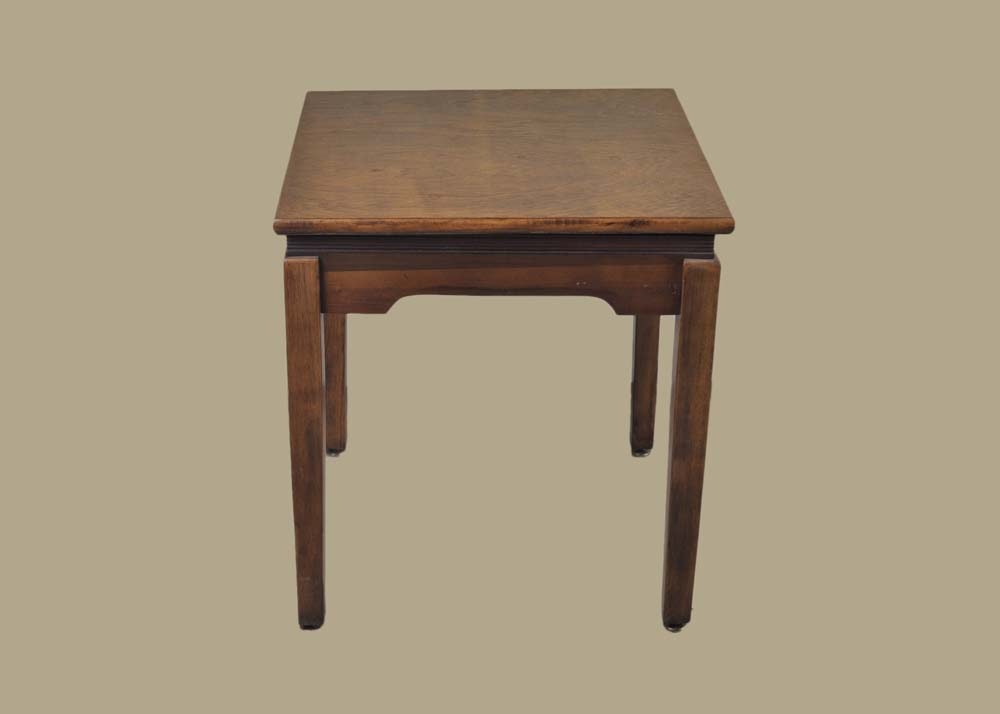 Vintage Mahogany End Table With Rotating Top ...