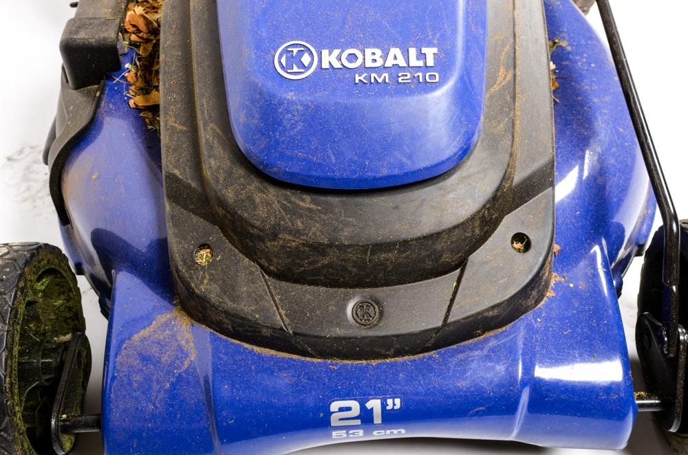 Kobalt Km210 Corded Electric Push Lawn Mower Ebth