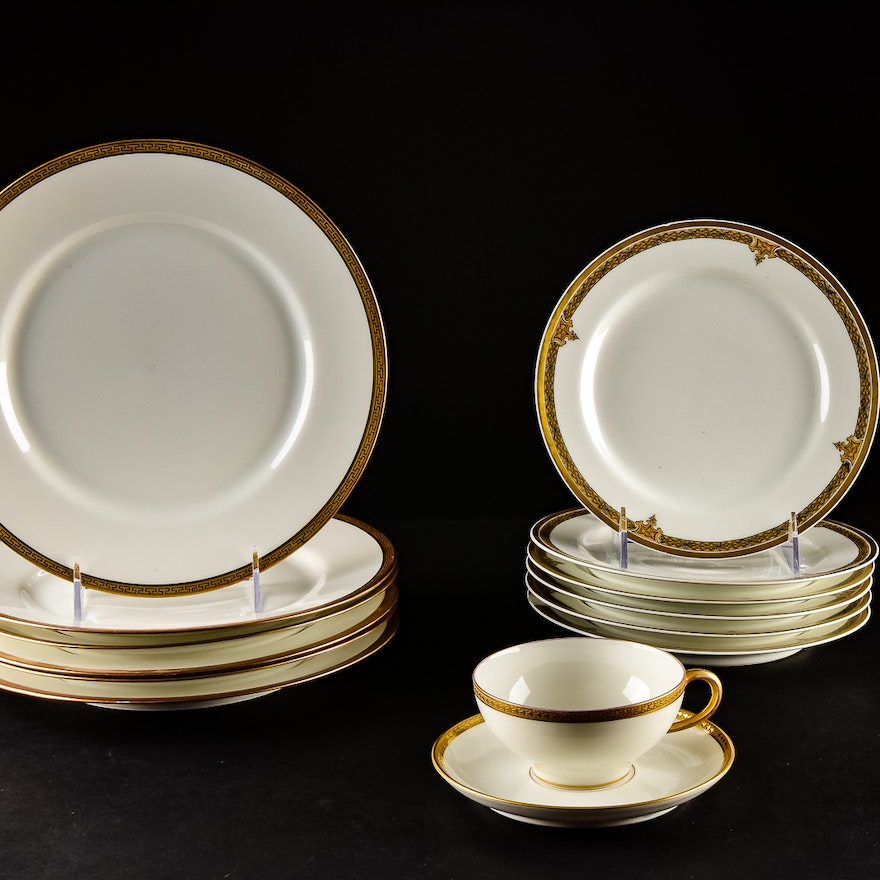 limoges china collection ebth