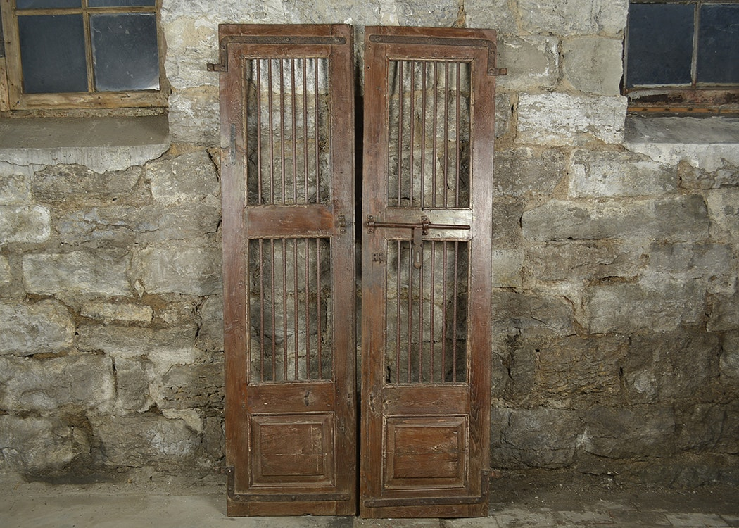 Antique Indian Security Doors & Architectural Artifact Auctions | Architectural Artifacts for Sale ... pezcame.com