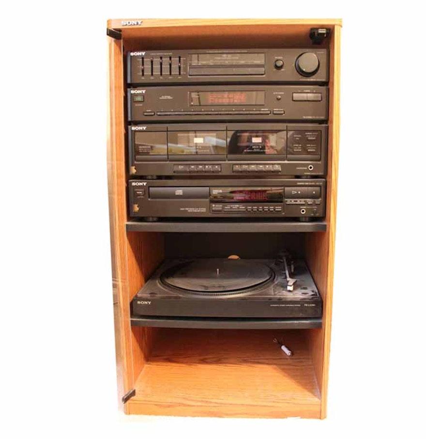 sony sound system ebth. Black Bedroom Furniture Sets. Home Design Ideas