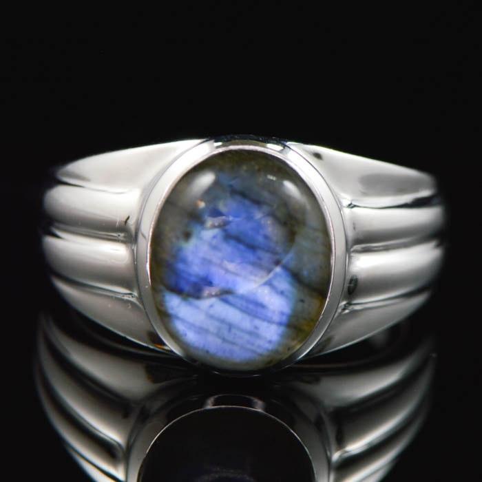 sterling silver with labradorite ring ebth