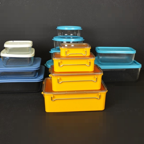 Frigoverre Glass Storage Containers Kold Plastic of Denmark Storage