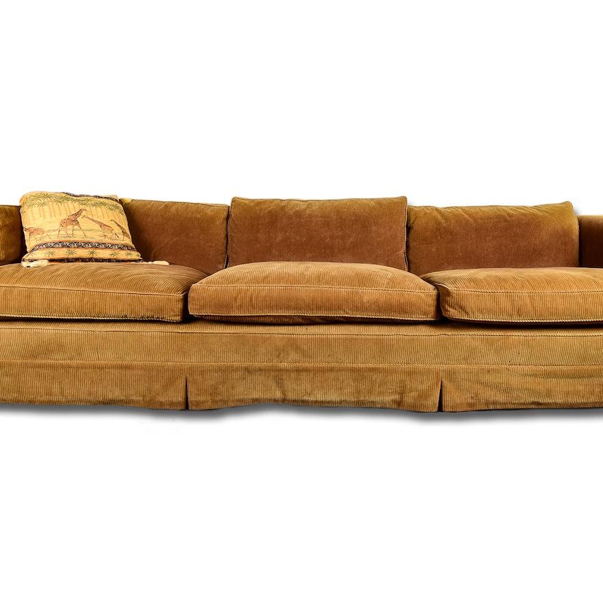 Wide Wale Corduroy Sofa