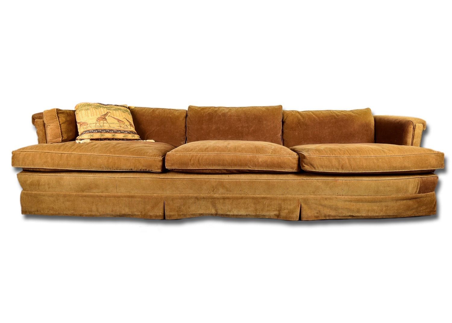 Attractive Wide Wale Corduroy Sofa ...