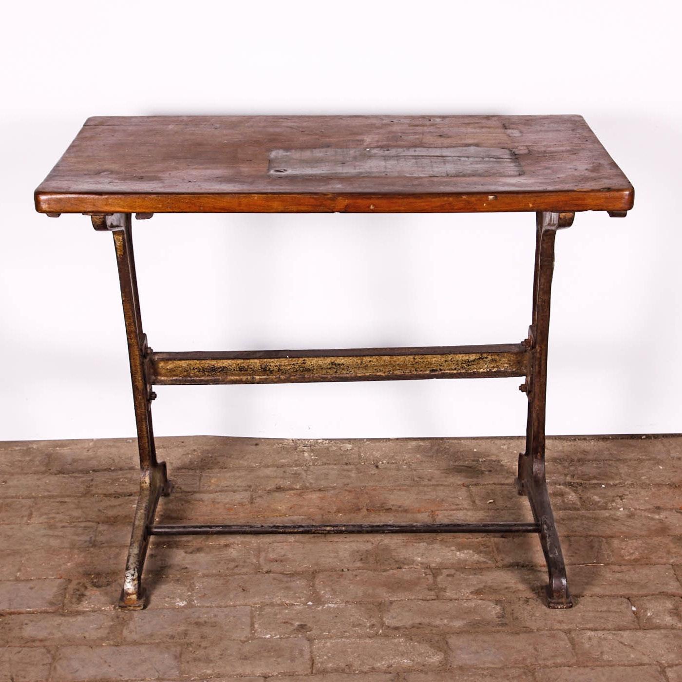 reclaimed industrial style desk
