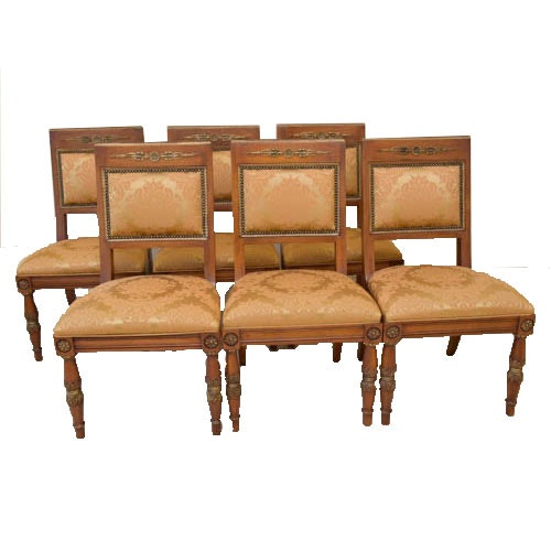 sc 1 st  EBTH.com & Set of Six Henredon Chairs : EBTH