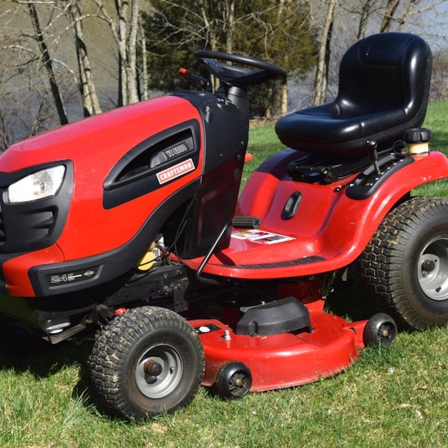 Craftsman Dyt 4000 Grass Catcher : Craftsman yt riding mower ebth
