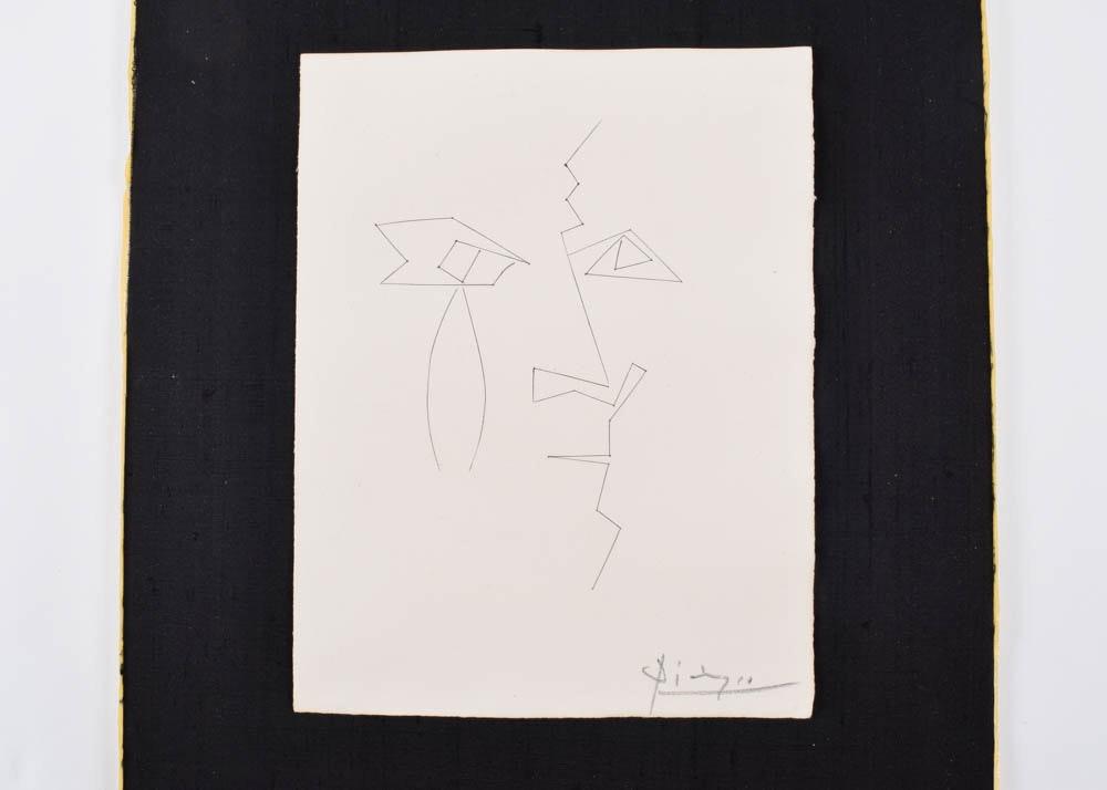 Pablo Picasso Engraving Plate Xxxiv Of Quot Carmen Quot Ebth