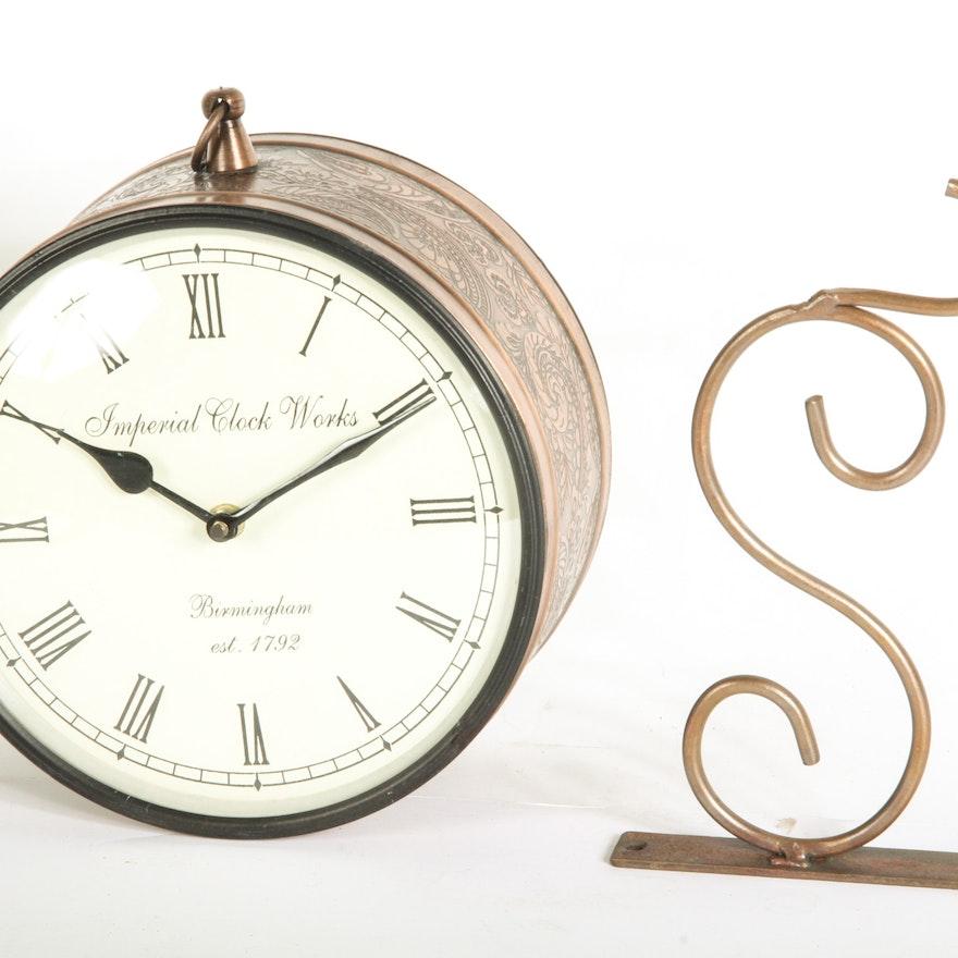 Imperial Clock Works Wall Clock Ebth