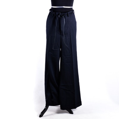 Yves Saint Laurent Wool Trousers