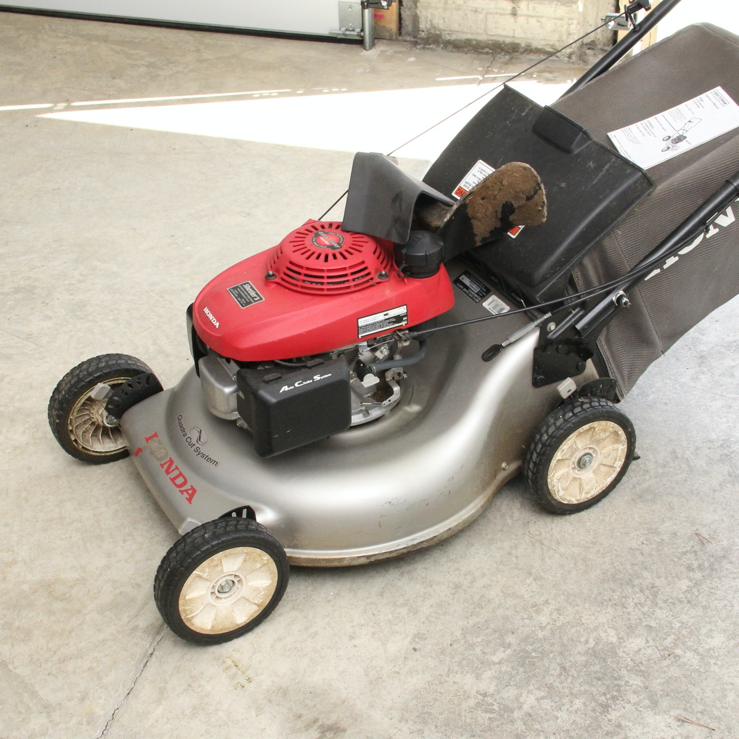Honda Easy Start Gcv160 Self Propelled Lawn Mower Ebth