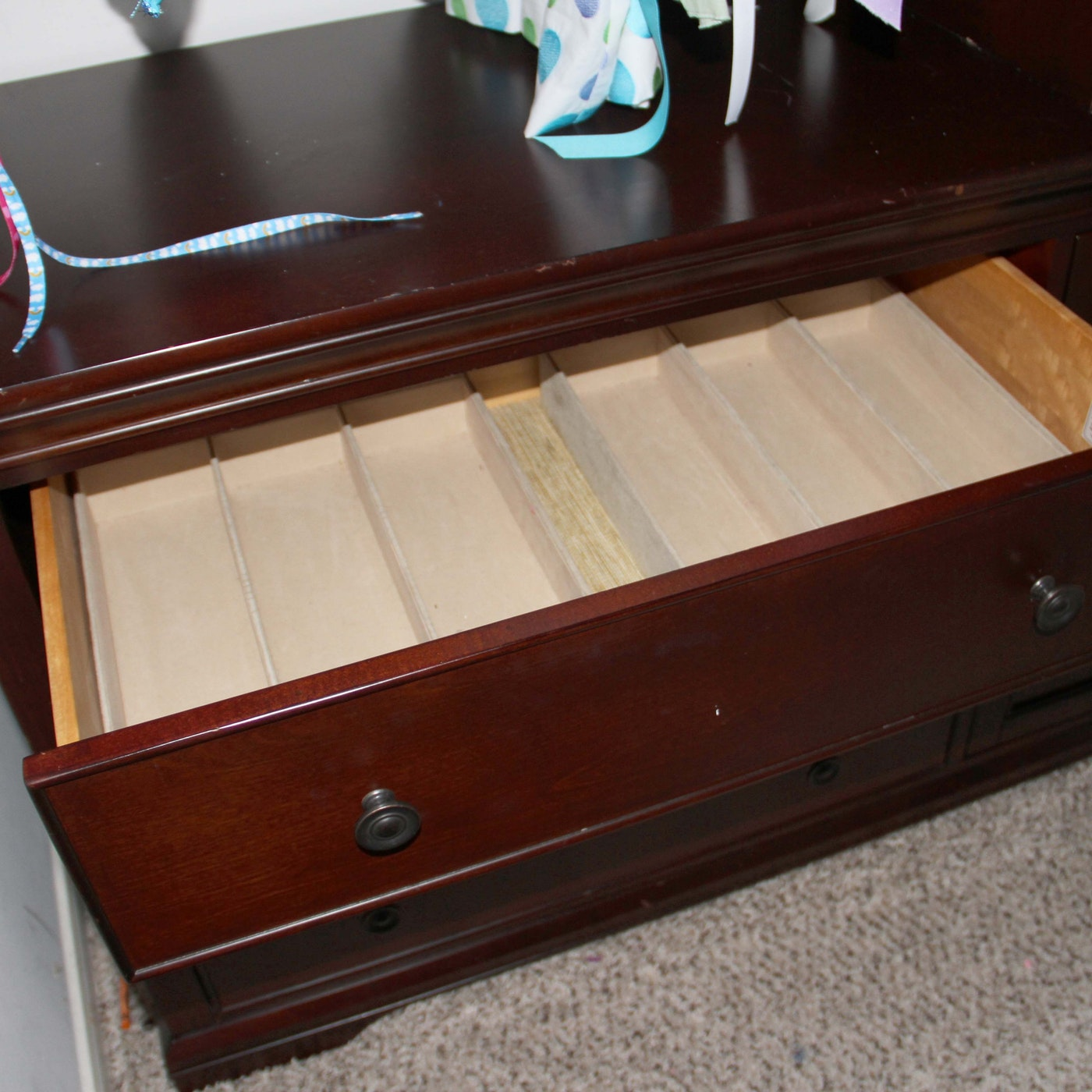 Pottery Barn Larkin Hi Low Dresser Ebth