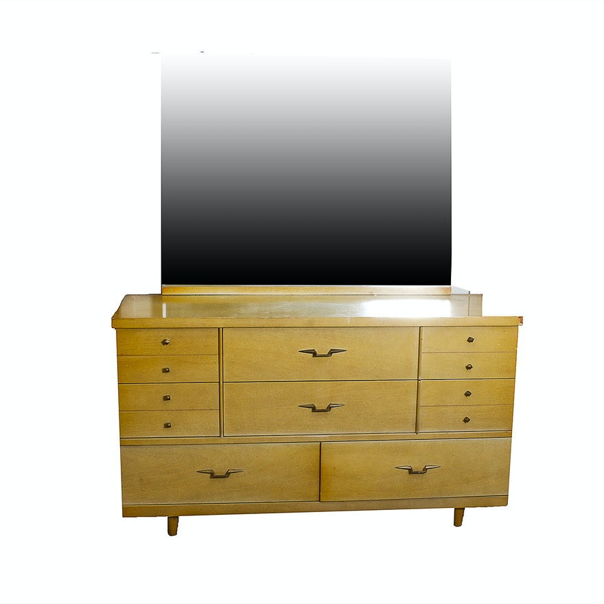 Kroehler Furniture Mid Century Style Dresser Ebth
