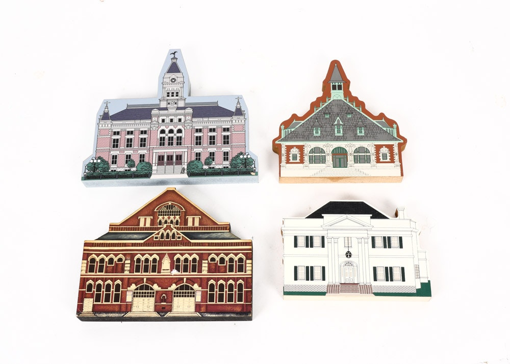 Clarksville Auto Sales >> Collection of Handpainted Tennessee Structure Plaques : EBTH
