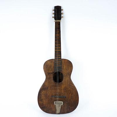 Vintage Six String Guitar
