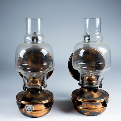 Lamplight farms Oil Lamps With Sconce Holder