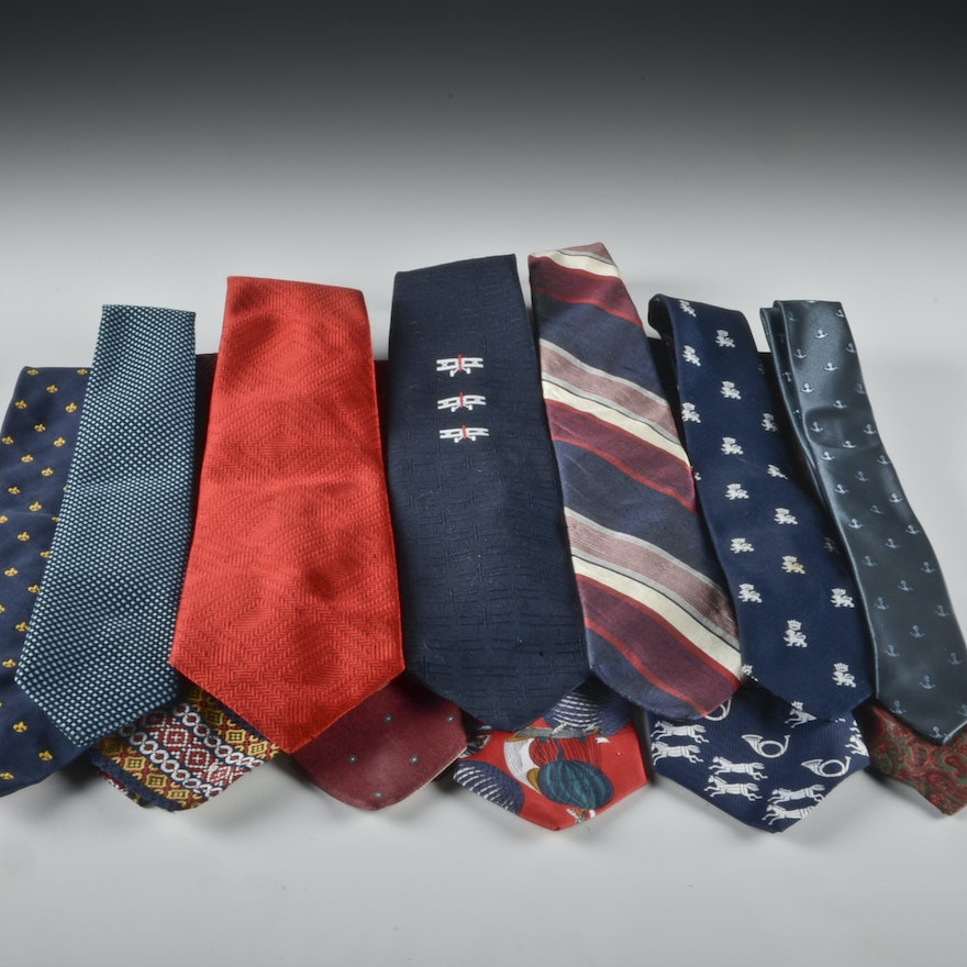569cd492231c Group of Men's Neckties Including Christian Dior : EBTH