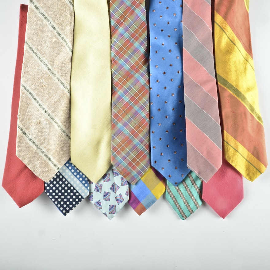 10063199b0d8 Men's Vintage and Contemporary Neckties Including Christian Dior | EBTH