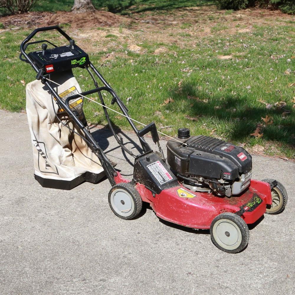 toro gts 5 gas powered super recycler lawn mower ebth rh ebth com