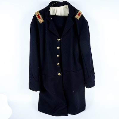 Men's Reproduction Union Captain's Wool Coat and Trousers for Reenactment