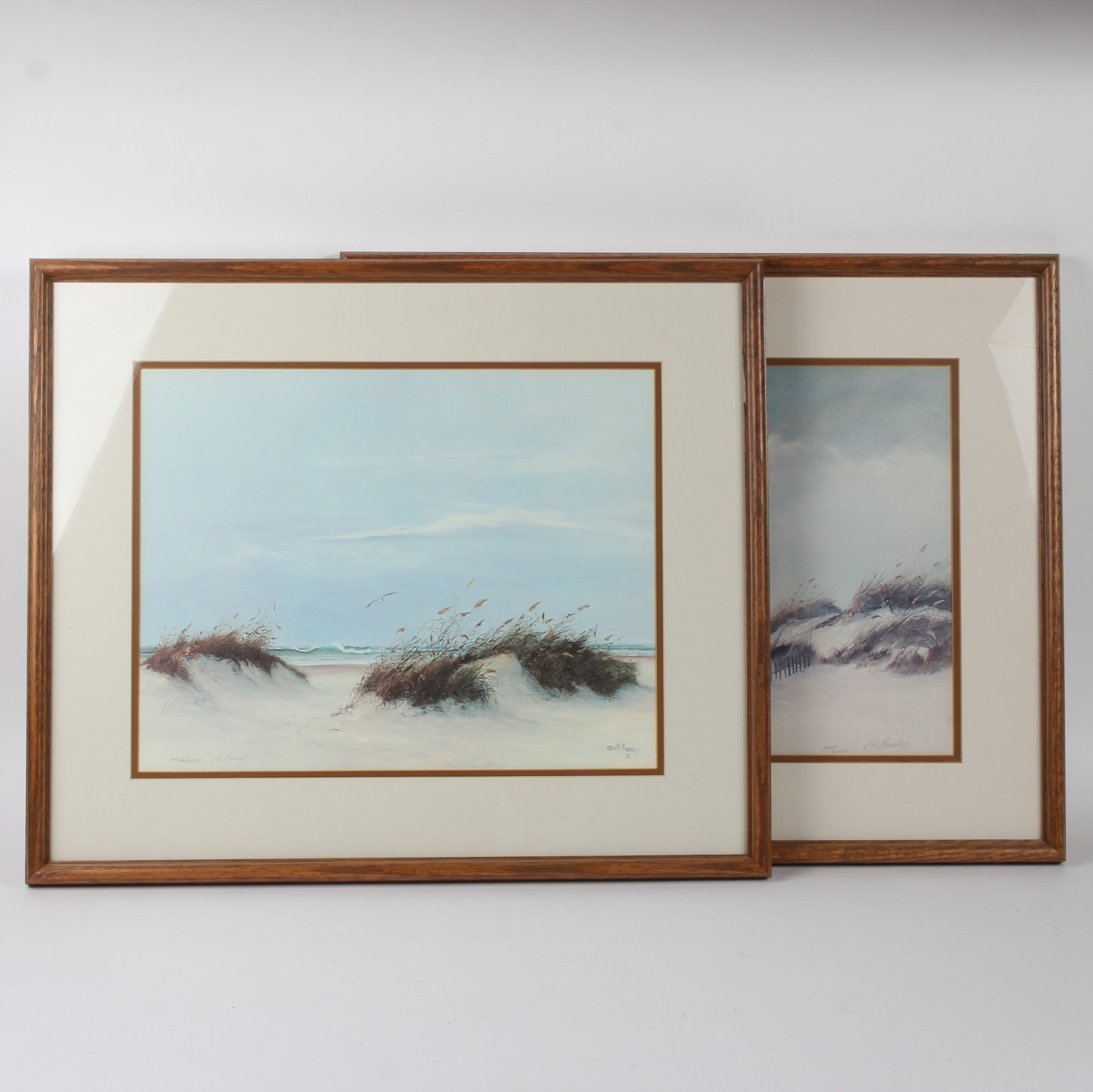 Pair Of V F Morales Limited Edition Lithographs Ebth