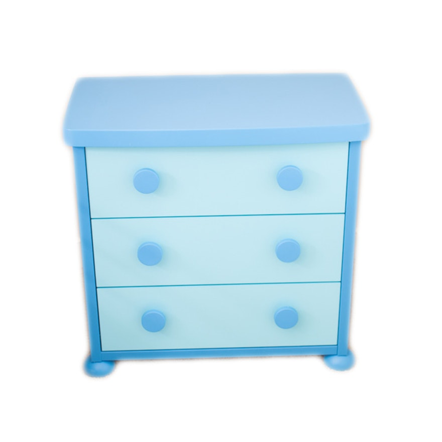 Ikea Mammut Children S Blue Chest Of Drawers