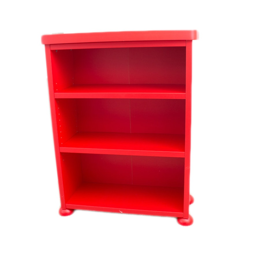 Ikea Mammut Children's Red Bookcase