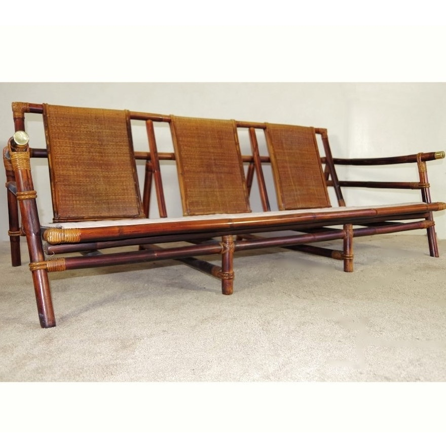 John B Wisner For Ficks Reed Sofa Ebth