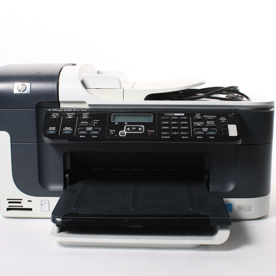 hp officejet j6480 all in one printer manual