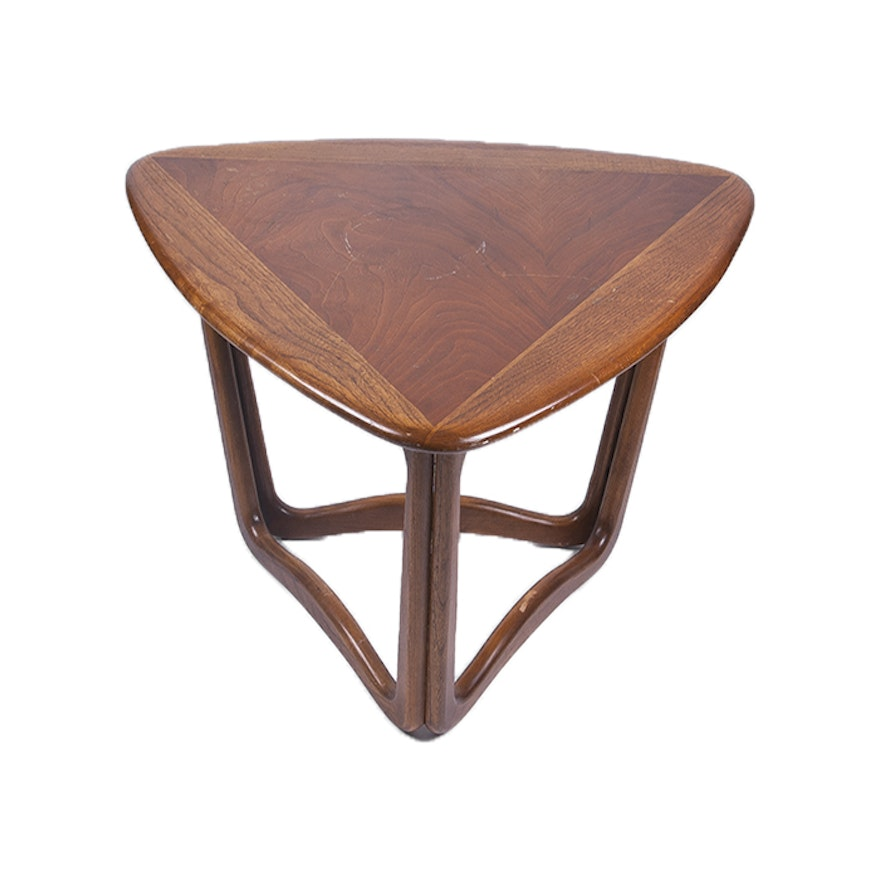 Contemporary Lane Furniture Mixed Wood Coffee Table