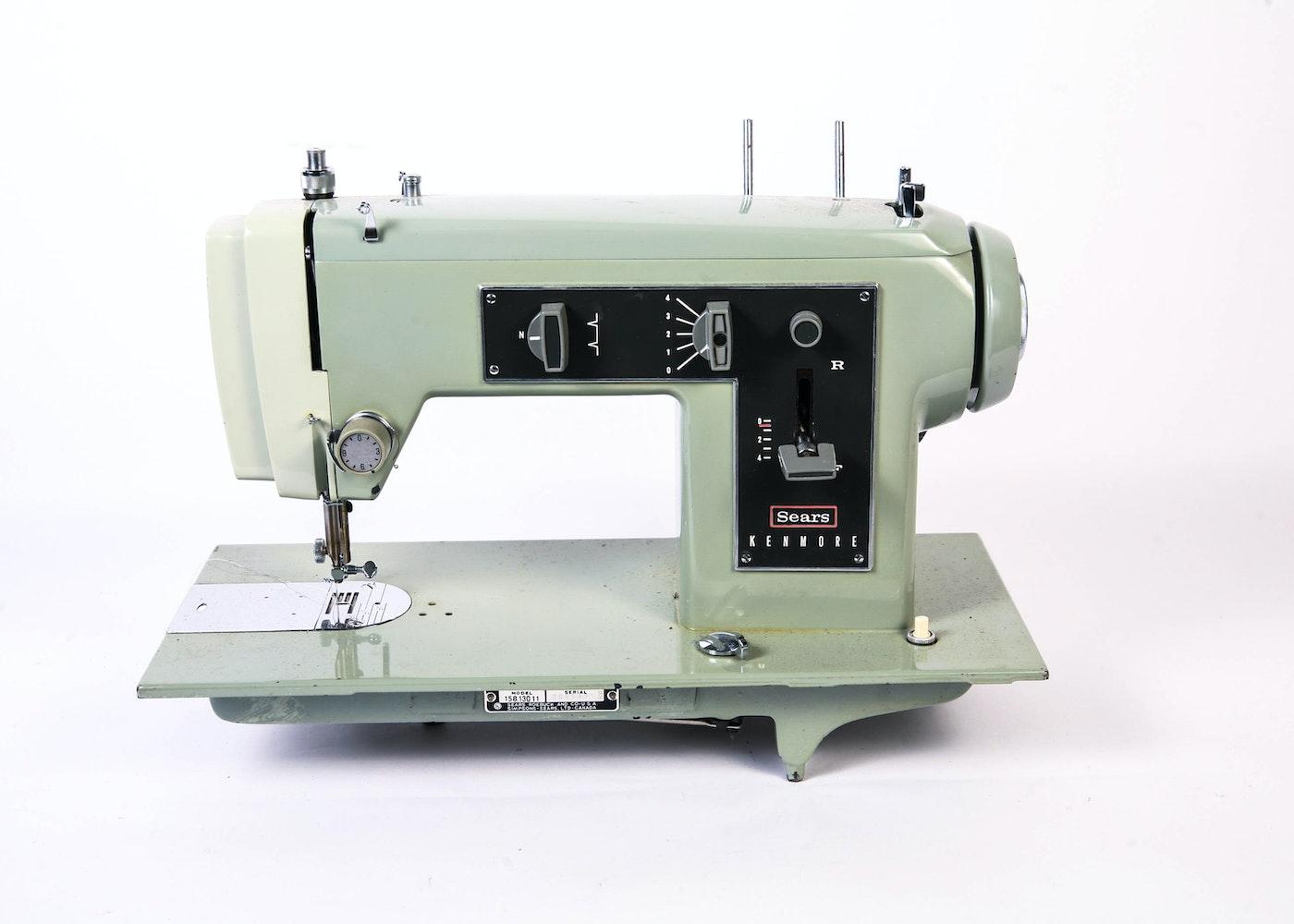 kenmore sewing machine 158 manual