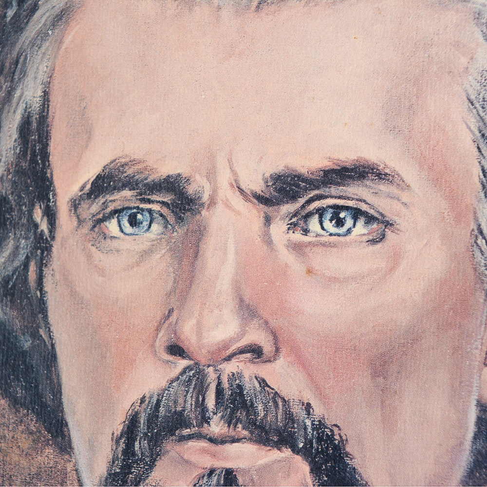 Jm Auto Sales >> JM Garner Signed Offset Portrait of Nathan Bedford Forrest | EBTH