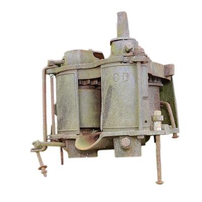 Antique Brennan & Company Iron Cane Mill