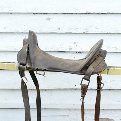 1904 McClellan Cavalry Saddle