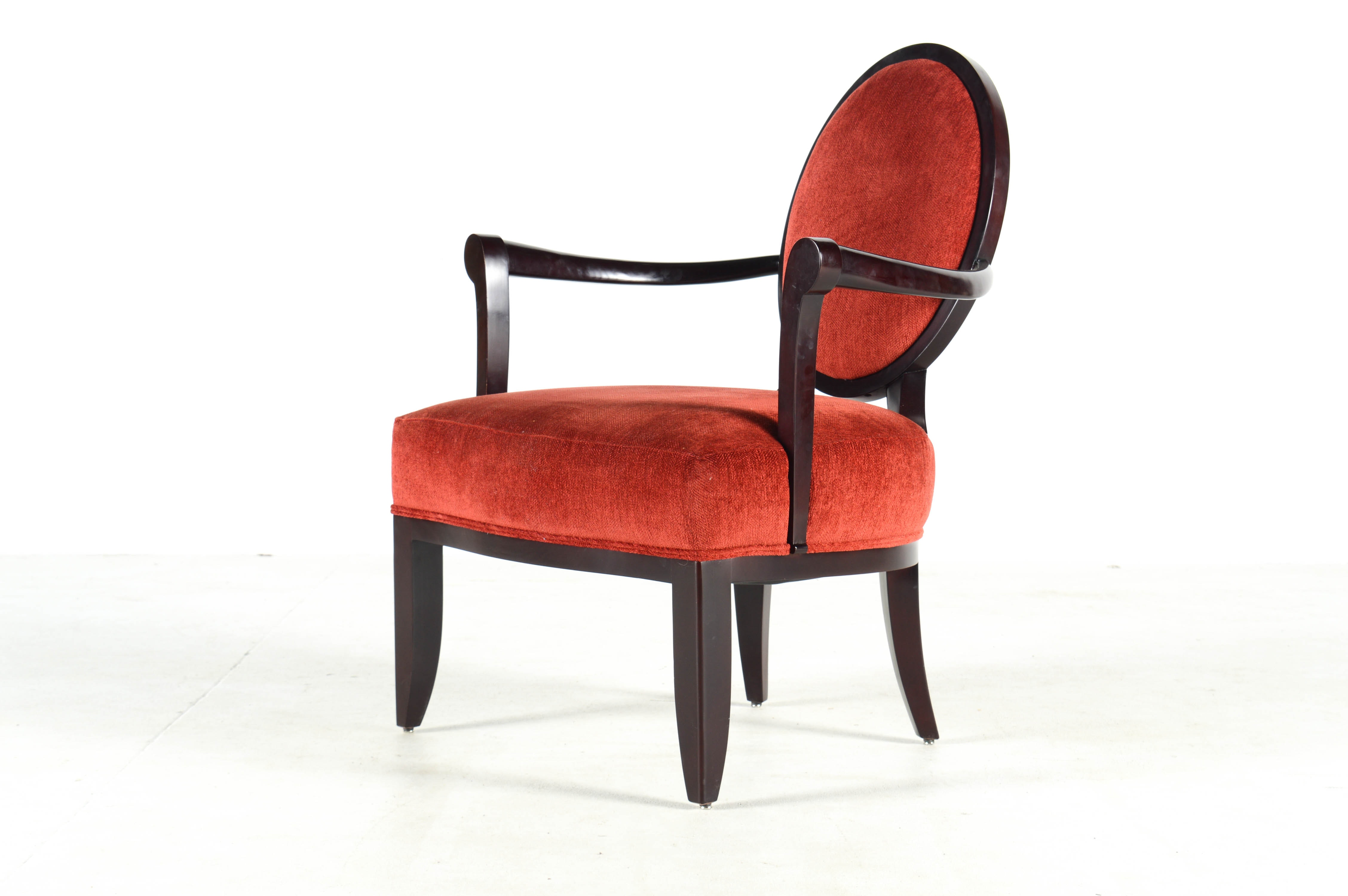 Baker Furniture Neoclassical Armchair From Barbara Barry