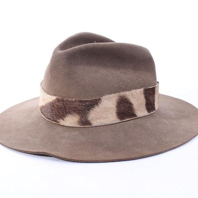Dorian Safari Hat with Hide Band