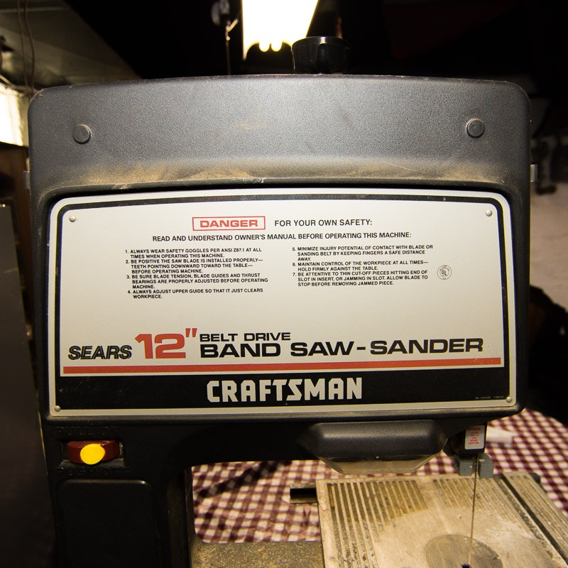 Craftsman 12 Inch Belt Drive Band Saw Sander Ebth