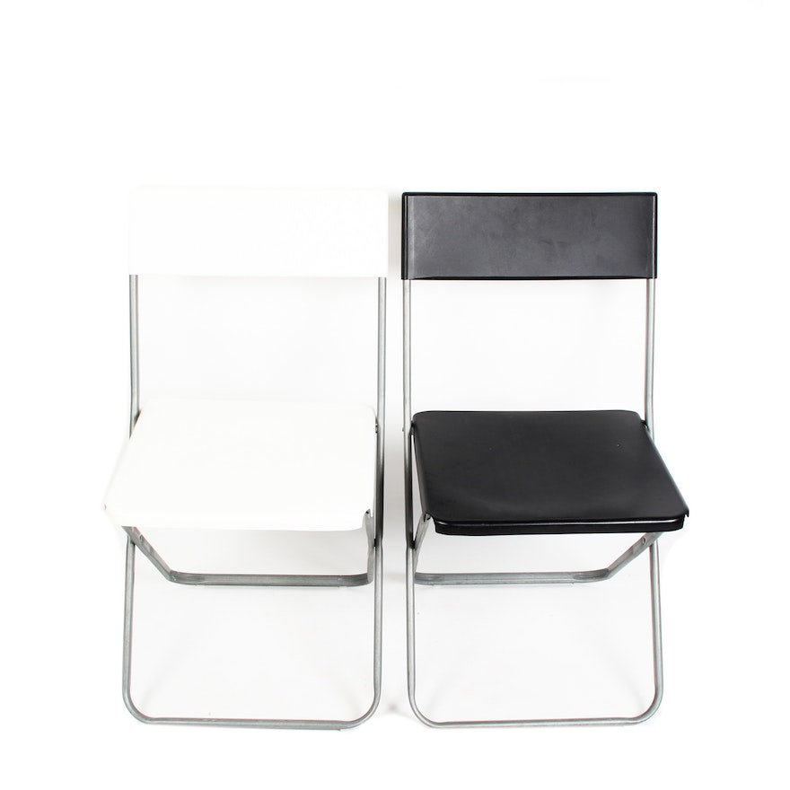 Pair Of Ikea Jeff Chairs Ebth