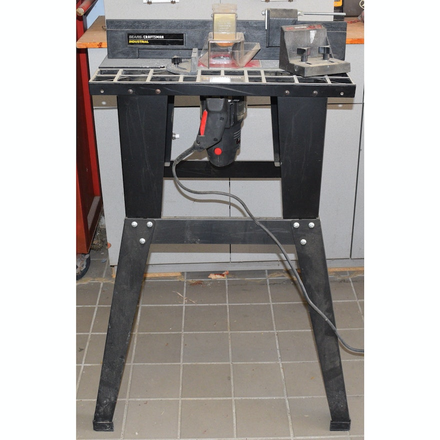 Sears craftsman industrial router table ebth sears craftsman industrial router table greentooth Image collections