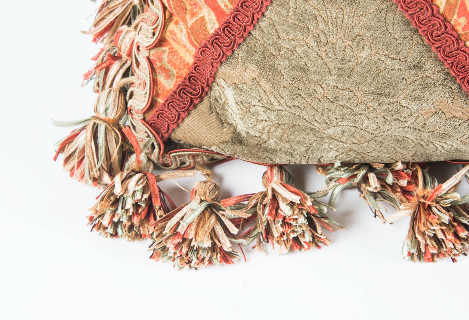 Decorative Down Pillow By Passementarie Fine Upholstery Ebth